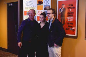 Derek Lackenbauer, Angela Duscio, and Zach Parsons, stars of Bickerman's Grove.  Photo by Steph Kent