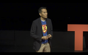 Co-founder and CEO of Nulogy Corporation Jason Tham. Photo courtesy TEDxUW