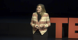 Managing director of UW's Youth and Innovation Research Project Ilona Dougherty. Photo courtesy TEDxUW
